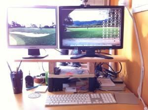 Here's the original setup.